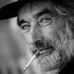 Giulio Magnifico La storia di un fumatore Foto a termofusione su tavola